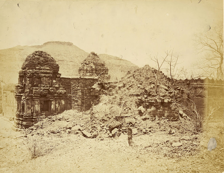 Ali Bhavani Temple, Patan, Khandesh District, Maharashtra - c1885