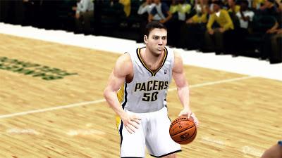 NBA 2K13 Tyler Hansbrough NBA2K Cyberface Patches