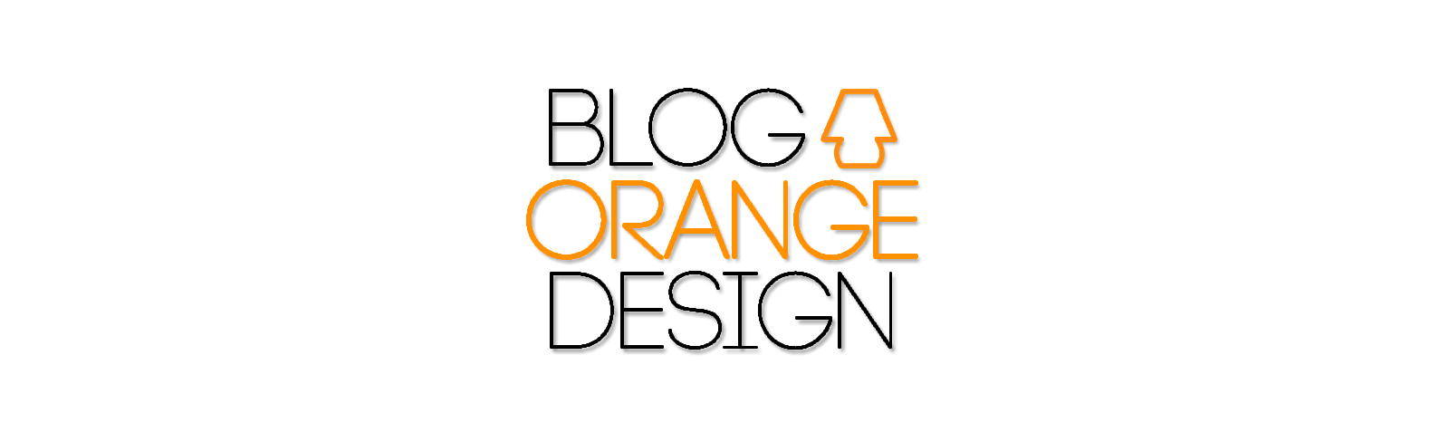 Blog Orange Design