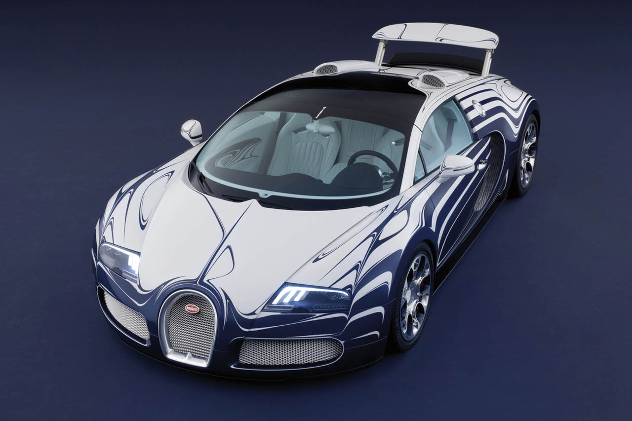 initial h bugatti veyron grand sport lor blanc. Black Bedroom Furniture Sets. Home Design Ideas