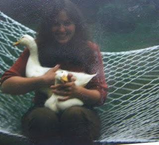 Debra Smith, folk artist and bird hugger