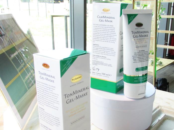 Yupik Infodays 2015 - Baden-Baden - Rugard TonMineral Gel-Maske für unreine Haut