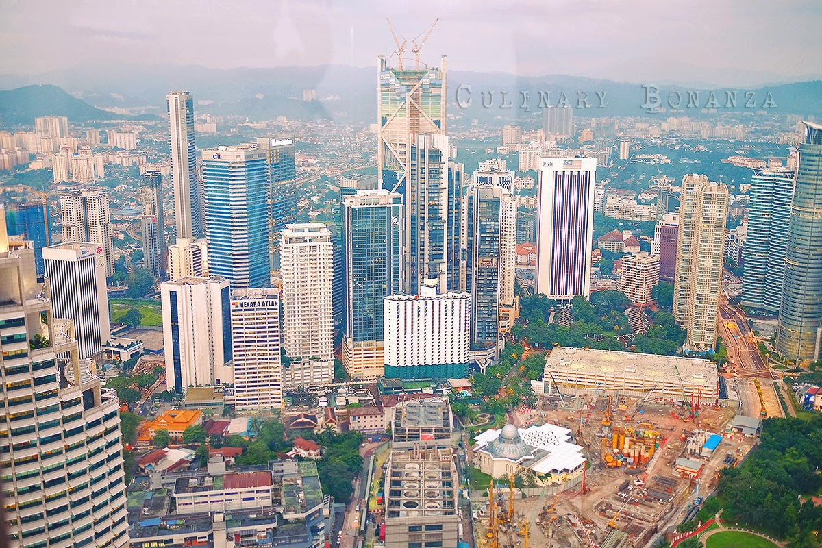 View of KL Downtown