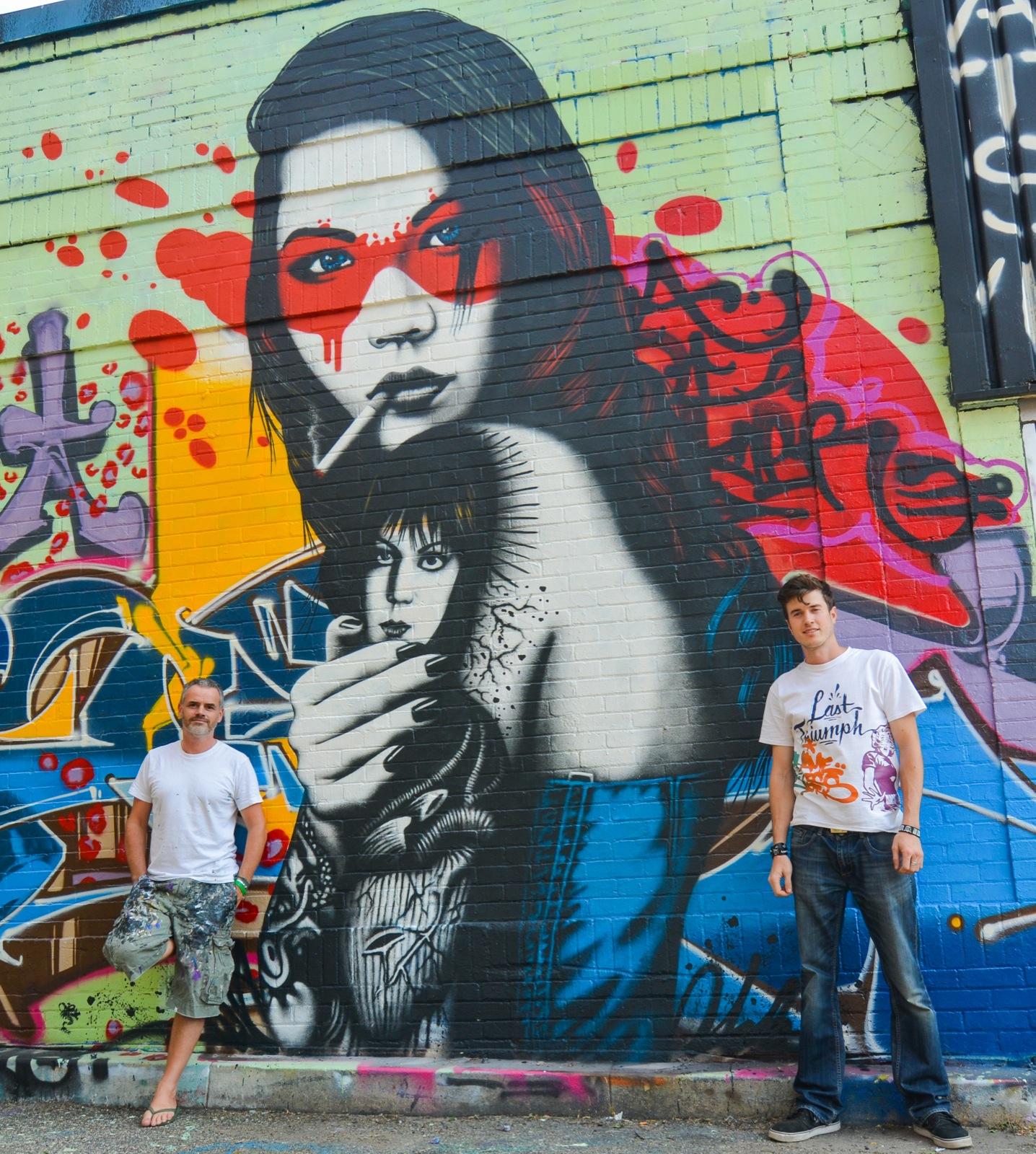 Minneapolis Painters: Fin DAC New Mural In Minneapolis, USA