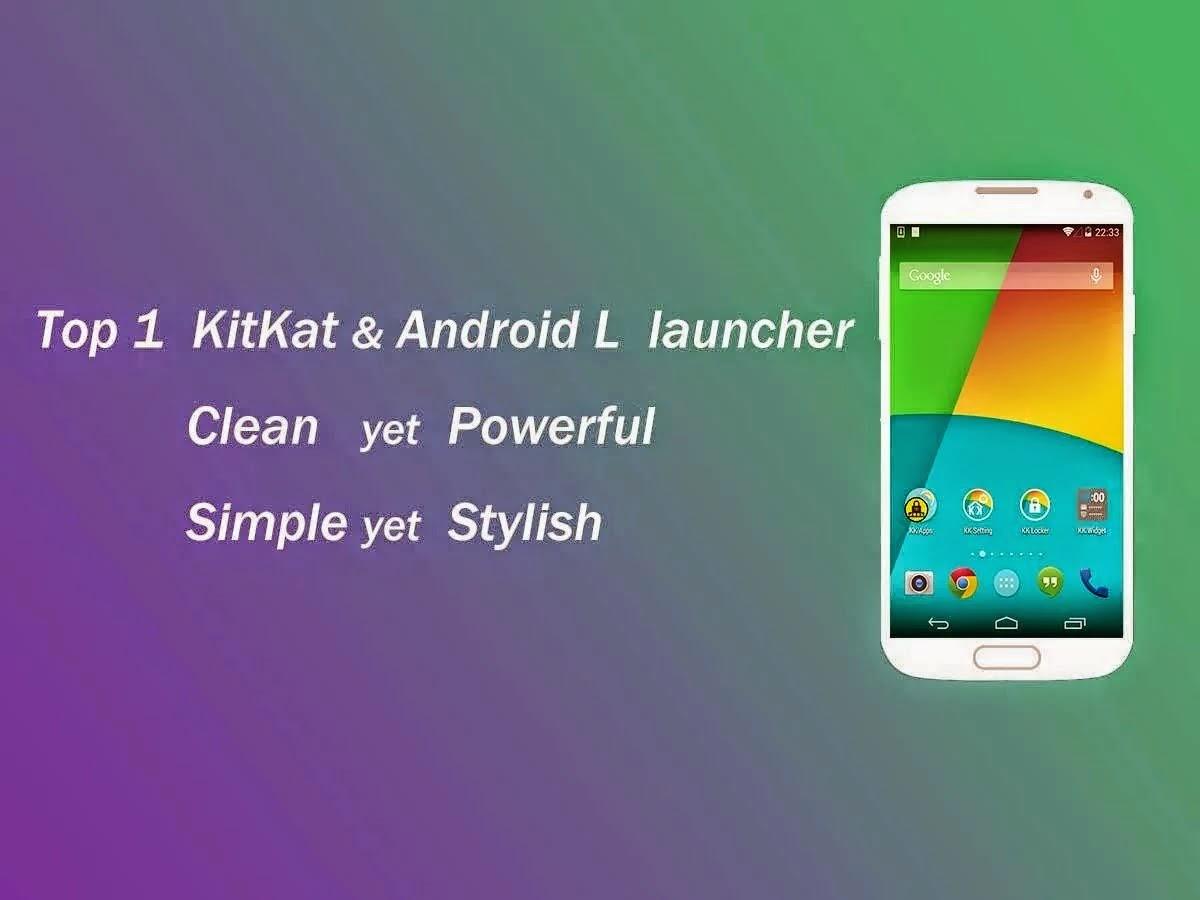 KK Launcher Prime (KitKat,Android L) v4.91