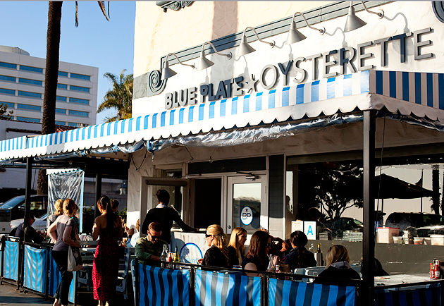 blue plate oysterette in santa monica