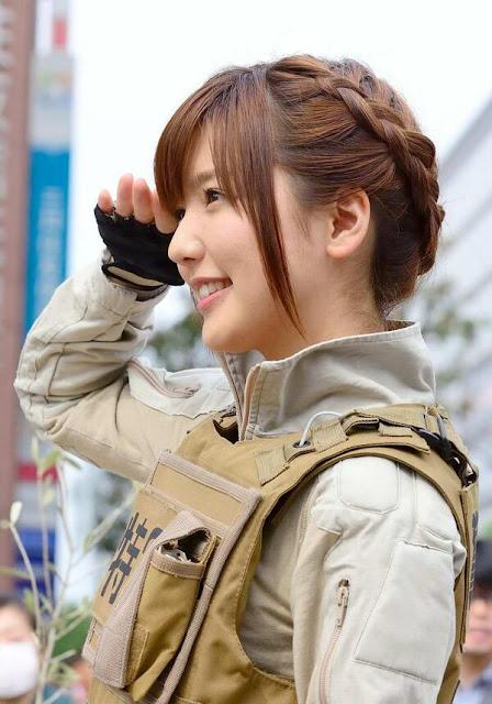 真野恵里菜 Erina Mano Patlabor Photos 02