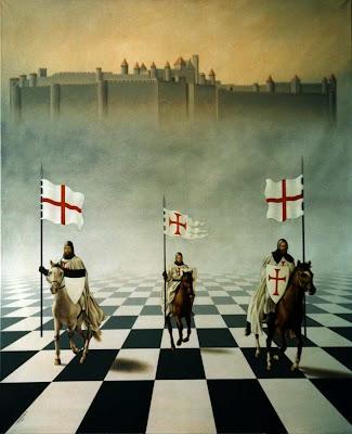فرسان-الهيكل-المعبد-الصليبيون-الشطرنج-بلاط-القلعة-الحروب-الصليبية