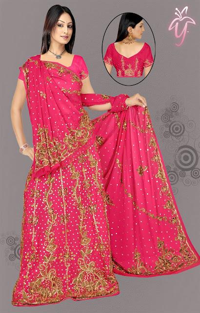 Bridal-Lehenga-Saree-Fashion