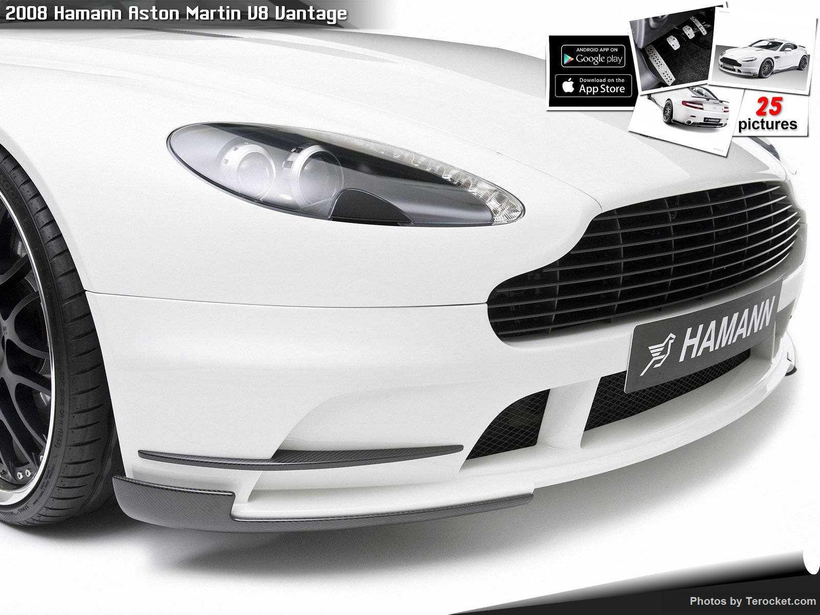 Hình ảnh xe ô tô Hamann Aston Martin V8 Vantage 2008 & nội ngoại thất