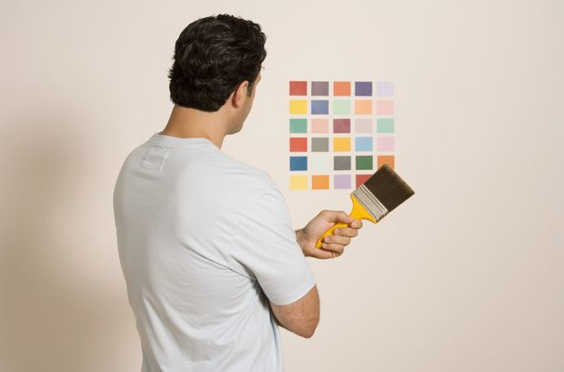 How to choose your room paint ideas for home decor - Choosing paint color for living room ...