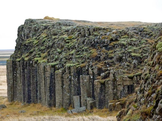 "Elf Cliffs"" of Dverghamrar, Iceland"