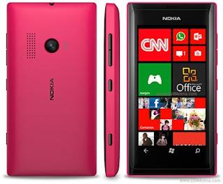 Harga Dan Spesifikasi Nokia Lumia 505