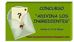 "EL BLOG ""MAS QUE HERMANAS"" ESTA DE CONCURSO"