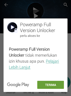 Pembelian Poweramp Unlocker Gratis