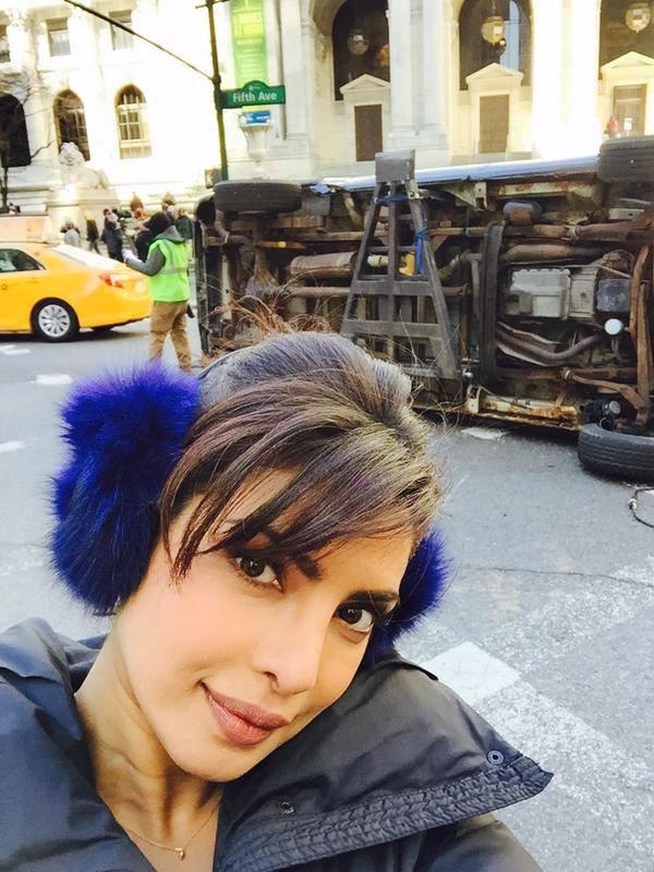 priyanka chopra selfie image