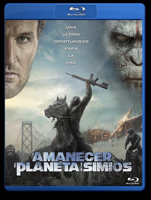 El Amanecer Del Planeta De Los Simios Bluray