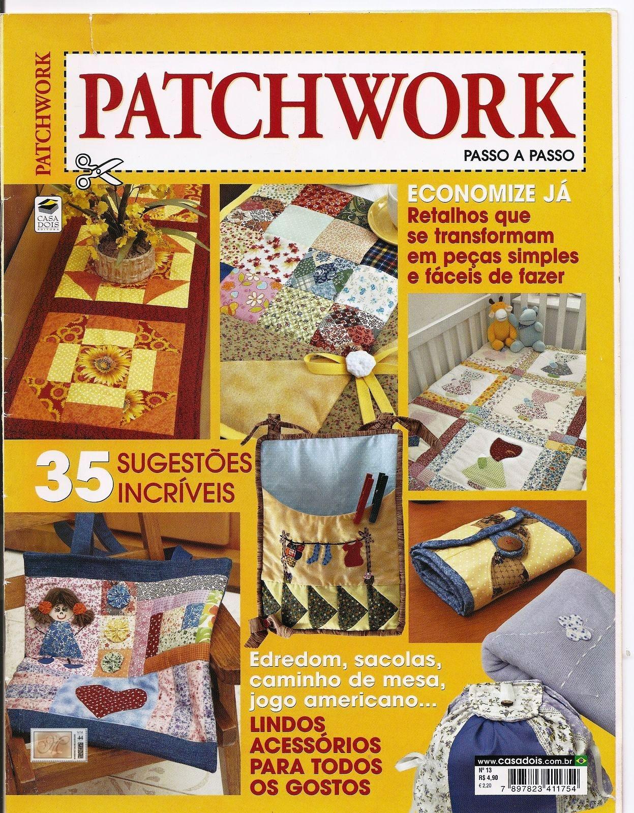 DESCARGAR GRATIS PATCHWORK EN CASA N 1 Revista