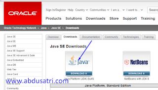 cara install JDK di win7