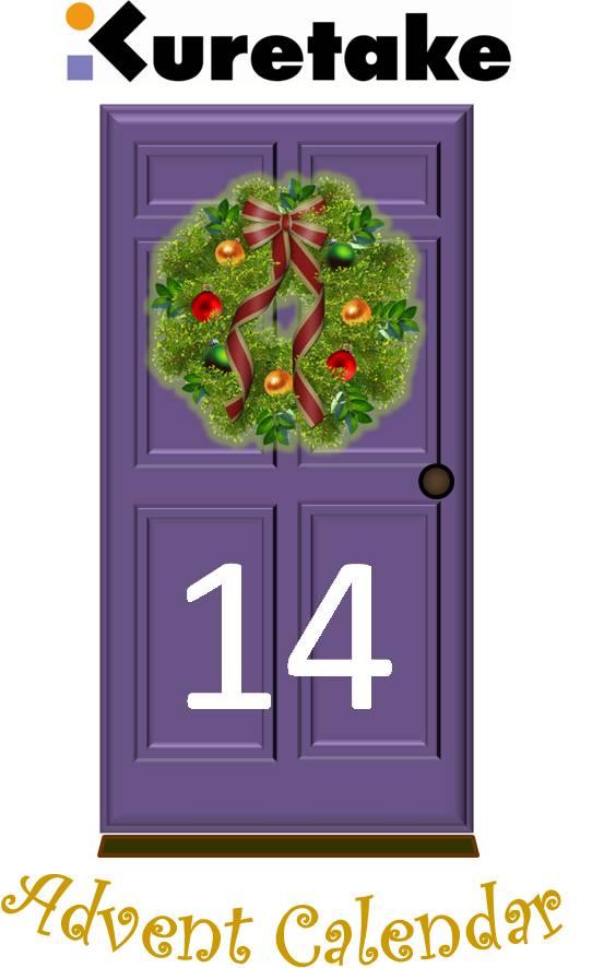 Kuretake uk blog kuretake advent calendar door 14 for 14 door