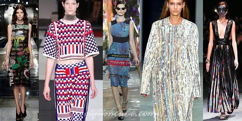 Candy Wrappers: Hot Fashion Trends For Spring Summer 2014