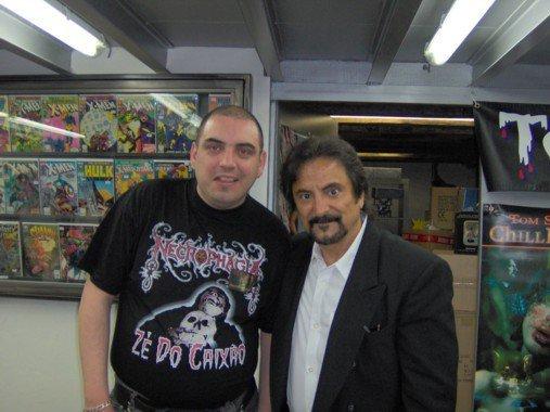 avec Tom Savini