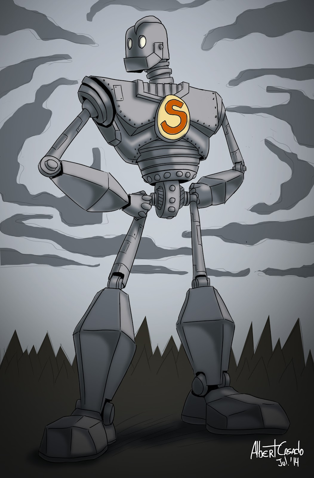 'IronGiant for Sketch_Dailies' - Albert Casado (nfok-e)