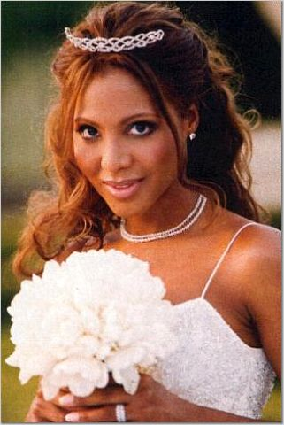 african american women wedding hair style hairstyles for women. Black Bedroom Furniture Sets. Home Design Ideas