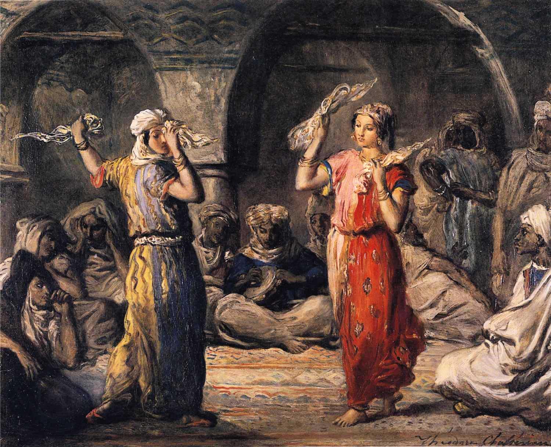 moorish dancers by theodore chasseriau