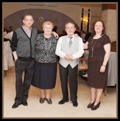 Angelines Hernadez, Pascual Sierra, Montse y Juan Carlos