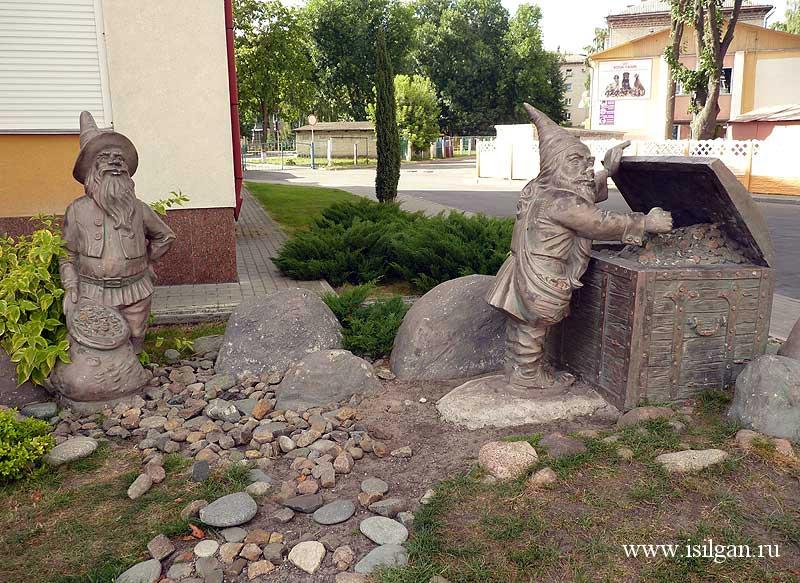 Необычные памятники. Город Гомель. Беларусь.