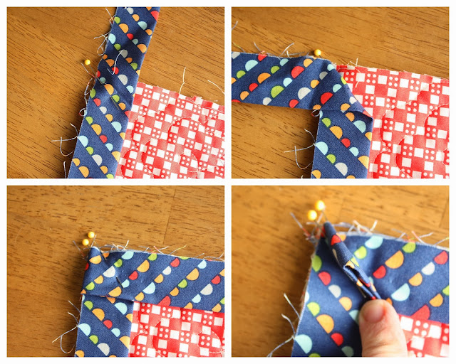 how to finish a quilt with a sewing machine