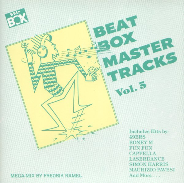 Beat Box Master Tracks compilation 5 Volumenes