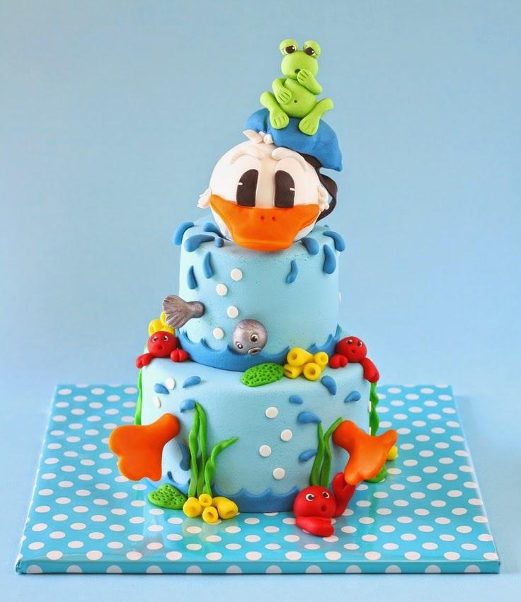 Diseños de Tortas Decoradas del Pato Donald