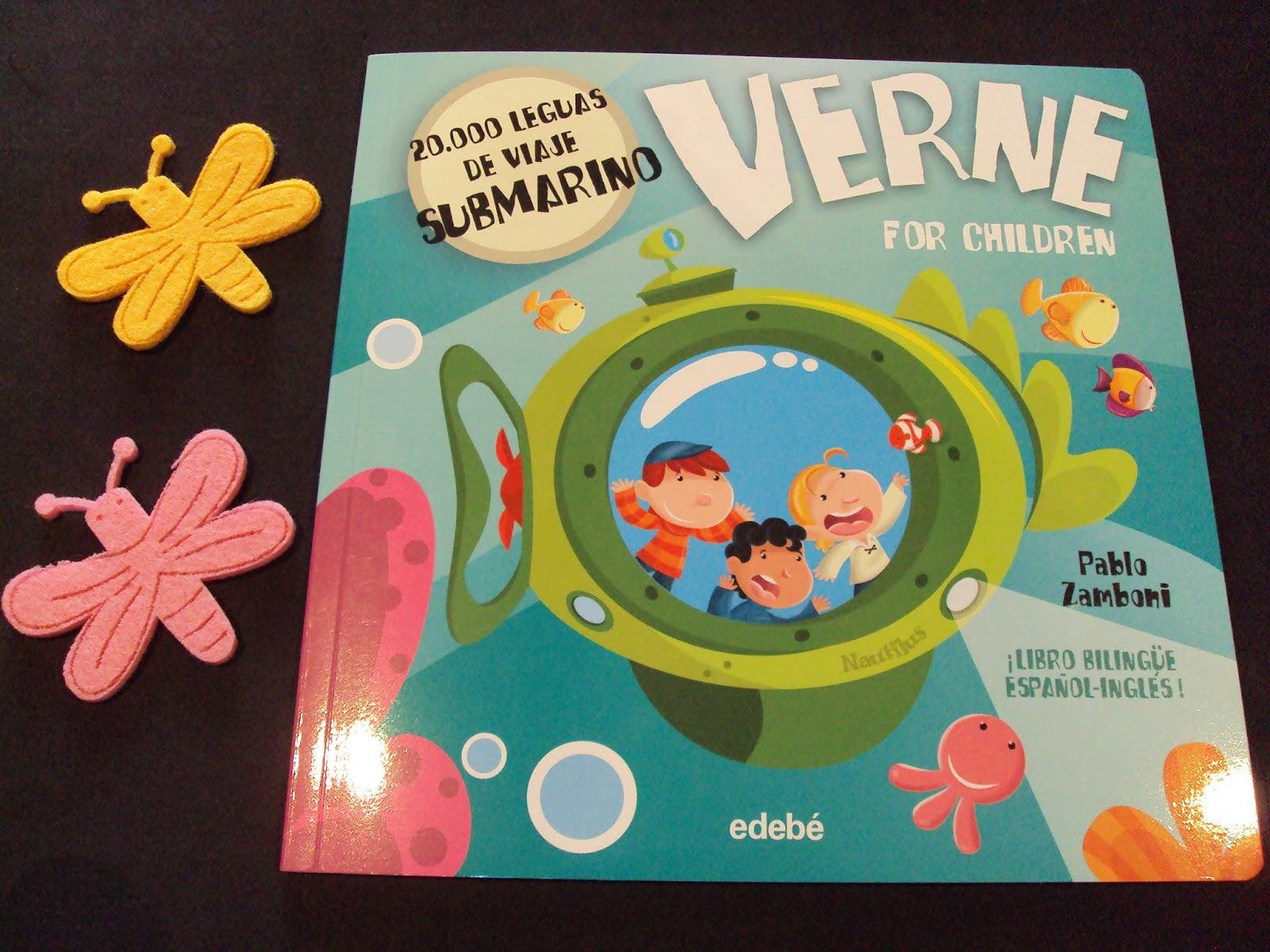 Verne para niños: 20.000 Leguas de viaje submarino - Pablo Zamboni