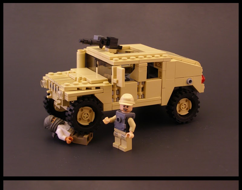 Blxbrx Blacks Bricks Blog Lego Humvee With Building