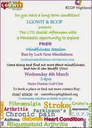 Mindfulness 4th March