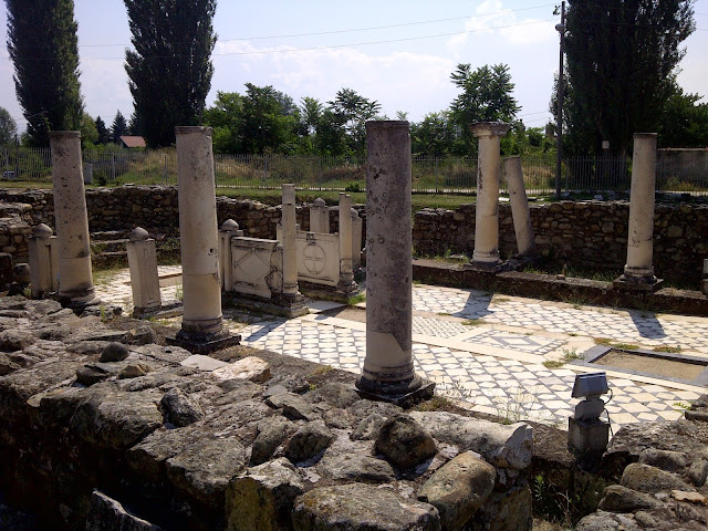 Small Basilica at Heraclea Lyncestis