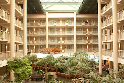 Atrium Embassy Suites Syracuse