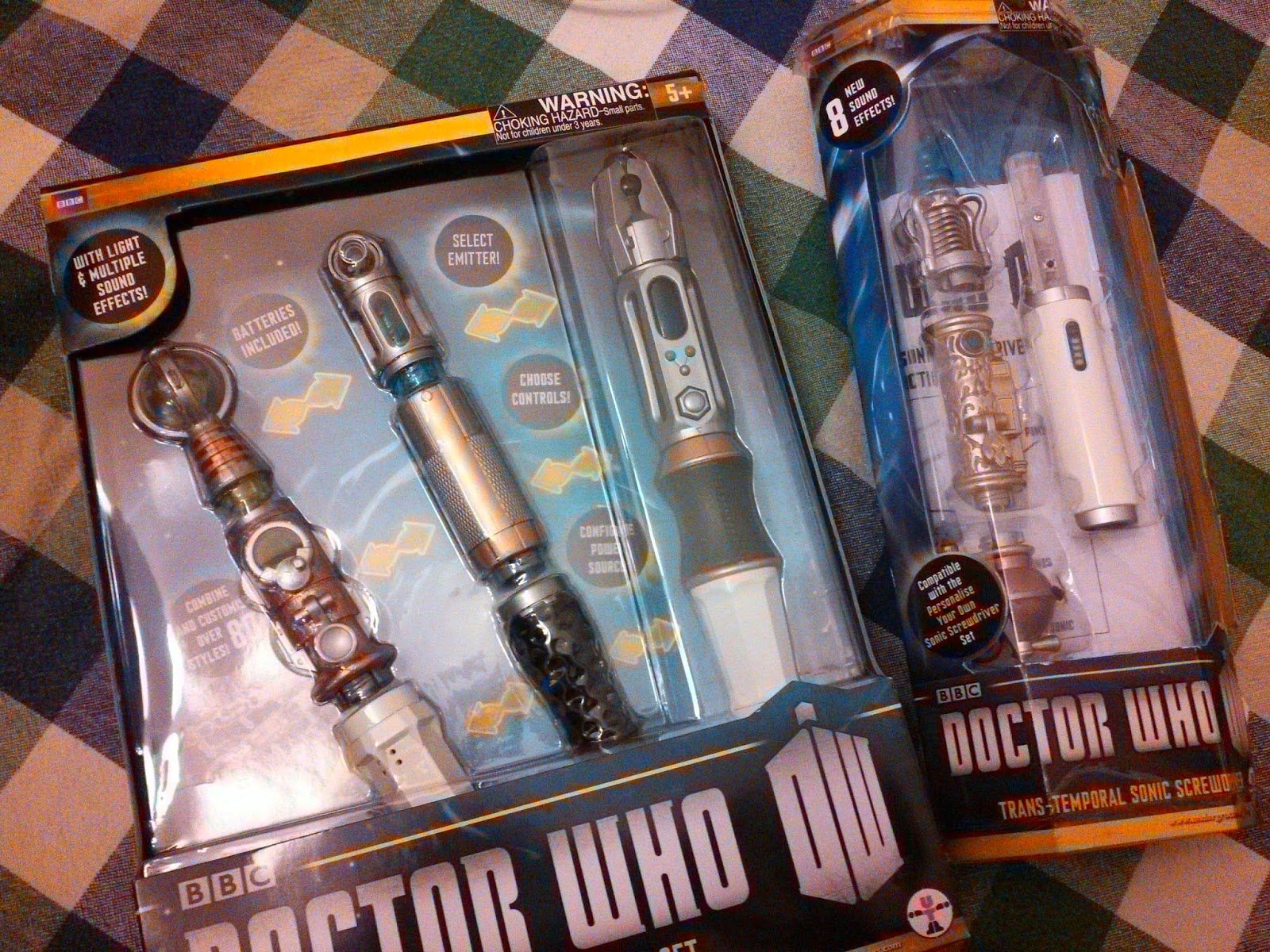 Design your own sonic screwdriver game — 2