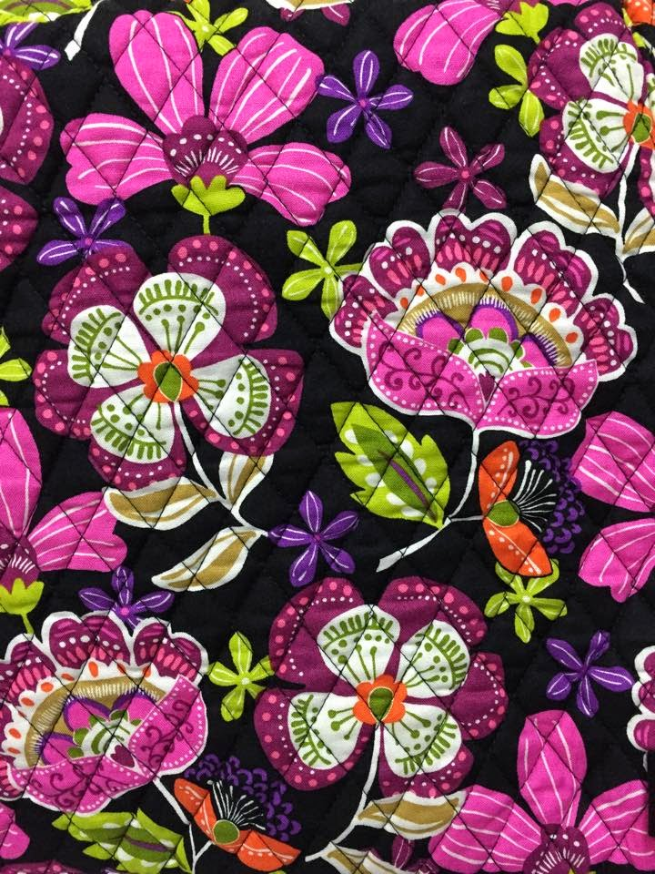 Ohmyvera a blog about all things vera bradley vera bradley outlet their first exclusive color is pirouette pink i love the flowers on this one mightylinksfo