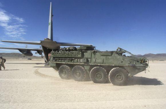 Kendaraan tempur Angkatan Darat AS