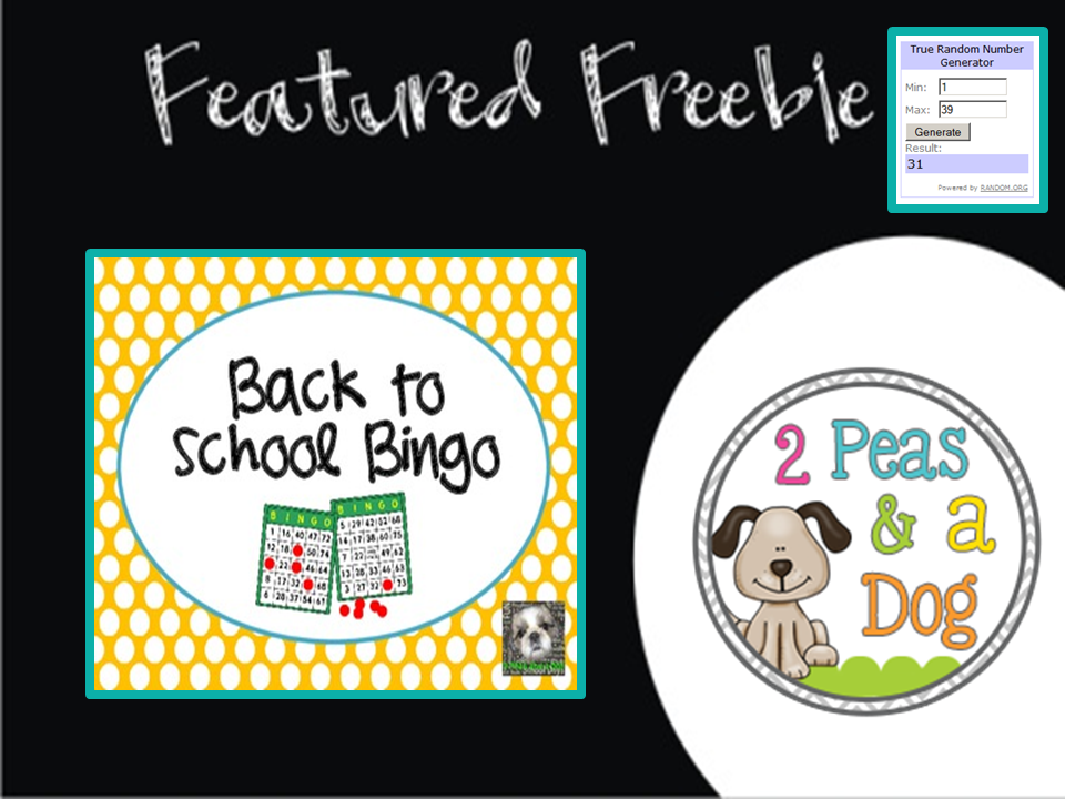 Freebie Friday ~ August 15