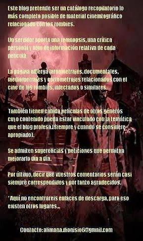 """La Morada del Cine De Los """"No Muertos"""""""