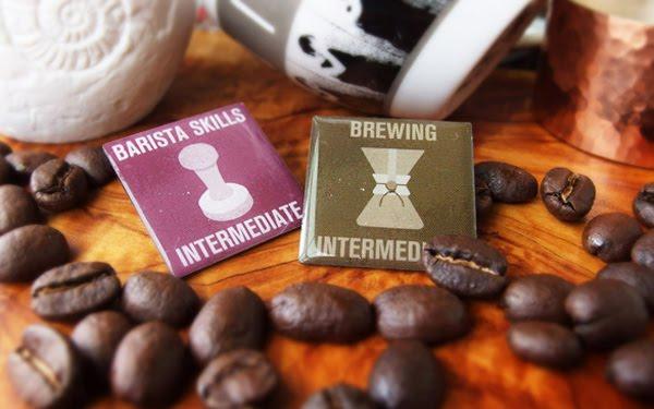 2015 SCAE 歐洲咖啡精品協會 合格認證徽章