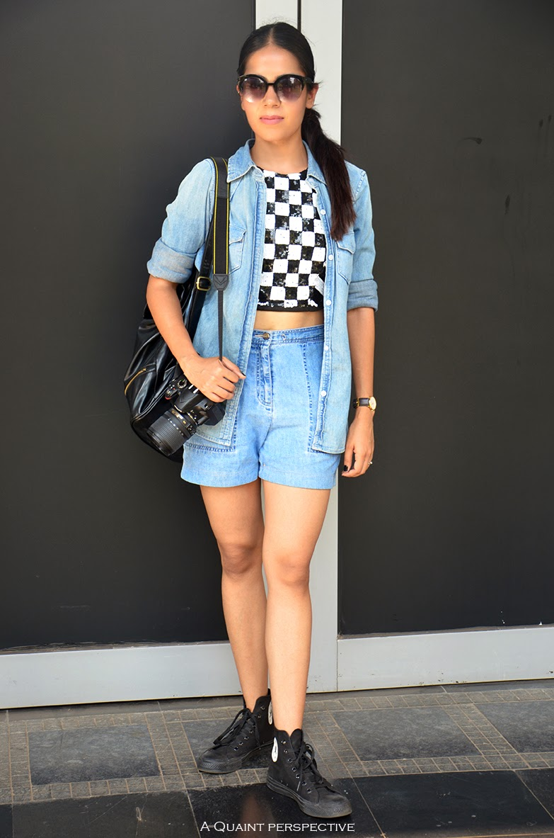 http://aquaintperspective.blogspot.in/, Shelly Sarkar, How to wear a crop top