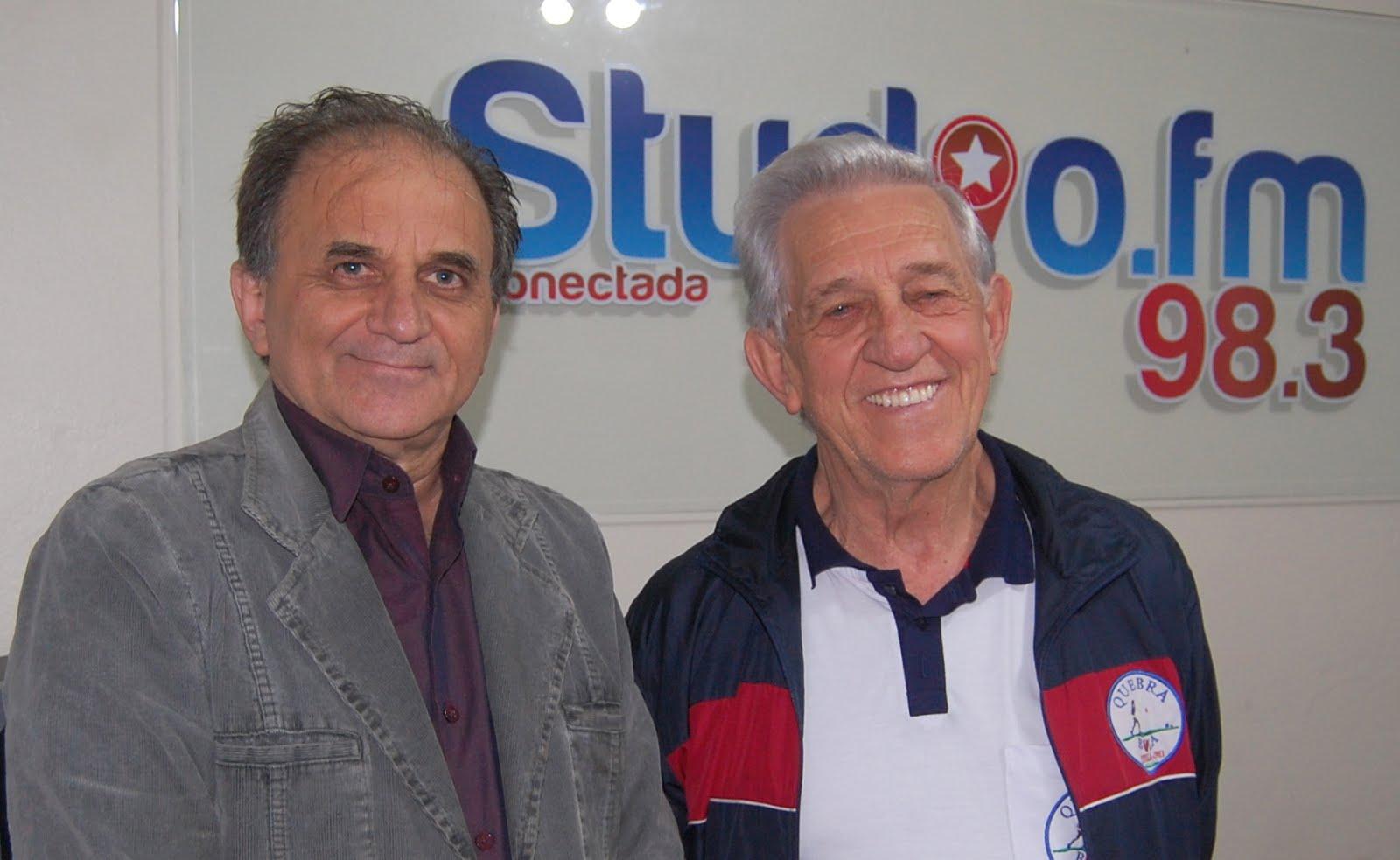 Airton Engster dos Santos e Hélio Musskopf