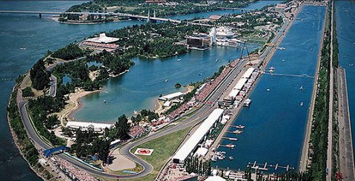 Circuito Gilles Villeneuve : Circuit gilles villeneuve canada f glamour