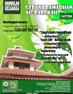 Gebyar Ramadhan 1433 H