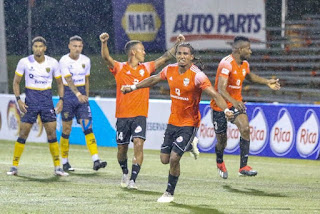 Cibao FC golea a Pantoja 4-1 y está en la final de la LDF, Murillo marco dos , Díaz y Angulo un gol.